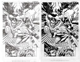 Derenick Batman Pencils Inks by Splotchy77