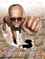 Stan Lee by DevonneAmos
