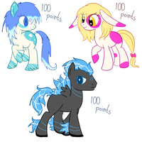 Pony Adopts -closed- by LiahMew