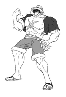 Request - Luffy buffed up by SZ-Ryuuki
