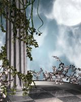 Air Temple Free Background by zememz