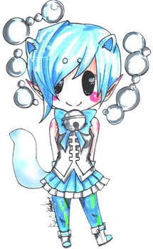 GaiaOnline Commission : tarmin_slime by rin-moon-7-13