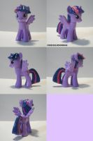 Alicorn Twilight Custom MLP by ChibiSilverWings