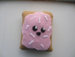 Toaster pastry plushie by MagicSprinkles