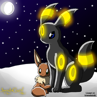 A Night Under the Moon by inuyashacrazy1