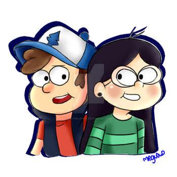 Dipper and Candy by Megu0w0