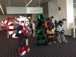Anthrocon 2014: Cruxes by murkrowzy