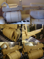Cardboard Tomislav from TF2 by SpoonSauce