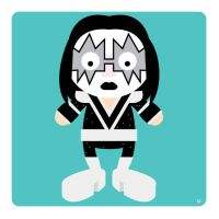 ace frehley by striffle