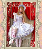 Classical Puppets A Line Round Collar Lolita Dress by miccostumes