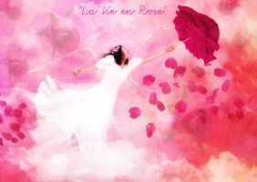 Soft Rose Dream by CecileVCreation