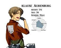 Klause Aurenburg by MissSekai