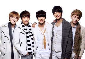 [png] Shinee Render by superaliciouscoyah