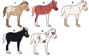 (Sold) Foal Adopts by PyralDesign