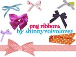 png ribbons by shinnyvolvolover