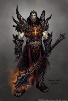 Deathwing: Human form. by Arsenal21