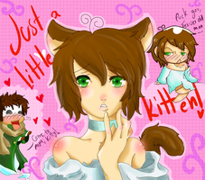 APH Just a little Kitten by NamelessAnami