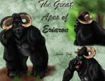 Eriaron Great Apes by PrimalInstincts