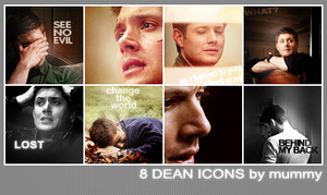 8 Dean Icons :6: by mummy16