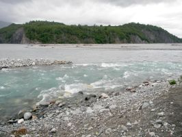 Alaska River 9 by prints-of-stock