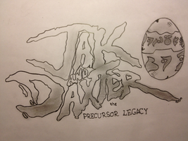 Jak and Daxter The Precursor Legacy Fan drawn Logo by Oblivion3O