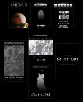 Riddick Poster Series by agcm