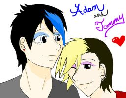 AdamXTommy by KalasRaven