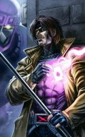 GAMBIT (colored) by grandizer05