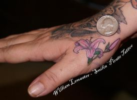 Stargazer Lily - Hand by lemaster99705