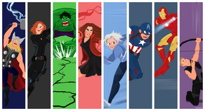 Avengers Countdown Wallpaper by xxiiCoko