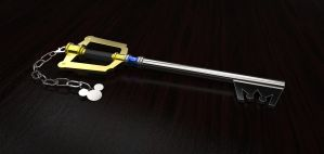 Realistic Keyblade by DarkestSaiko