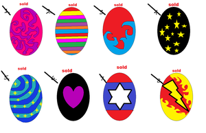 1 point egg adoptables   :ALL SOLD: by PrincessaDramaQueen