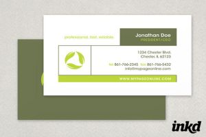 Full Circle LandscapingService by inkddesign