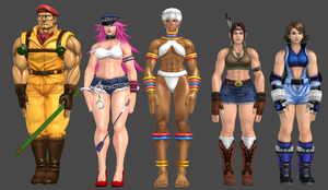 SfxT models Retextured by IIReII