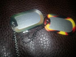 Dog Tags by ZomibeSlayer117