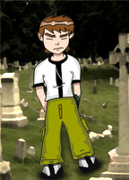 Ben 10 Cry Me A River Colored by HeatR8