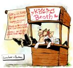 gtro: Kissing Booth by MuscleFace