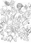 Super Mario and Friend vs Enemies by marvelmania