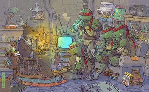 TMNT by MikeLancette