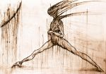 Sketched Figure (Early 2013) by Democo