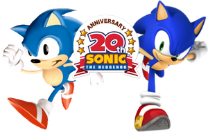 Retro And Neo Sonic 20th Anniv by Proto-Blues