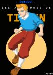 Fan Art: Tintin by dowaru
