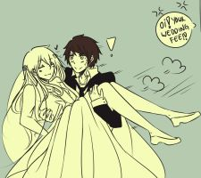 Wedding-Eloping day by ikeemen