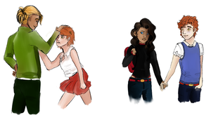 Young Justice Genderbent by Koryandr