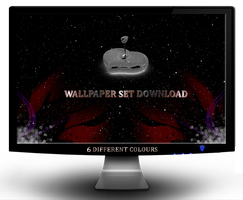 SPACE LOVE WALLPAPER SET by jeshans