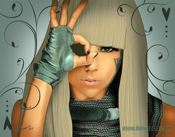 Lady Gaga - Poke my face by hinoraito