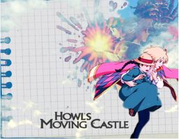 Howl's Moving Castle by theERINexit