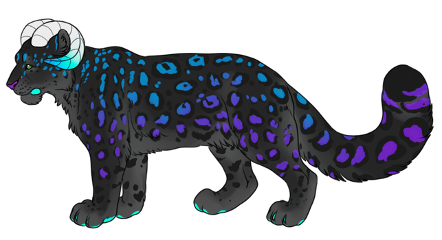C: Snow Leopard Design by deadonarrival