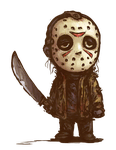 Chibi Jason by NightmareHound