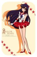 CP - Sailor Mars by selinmarsou